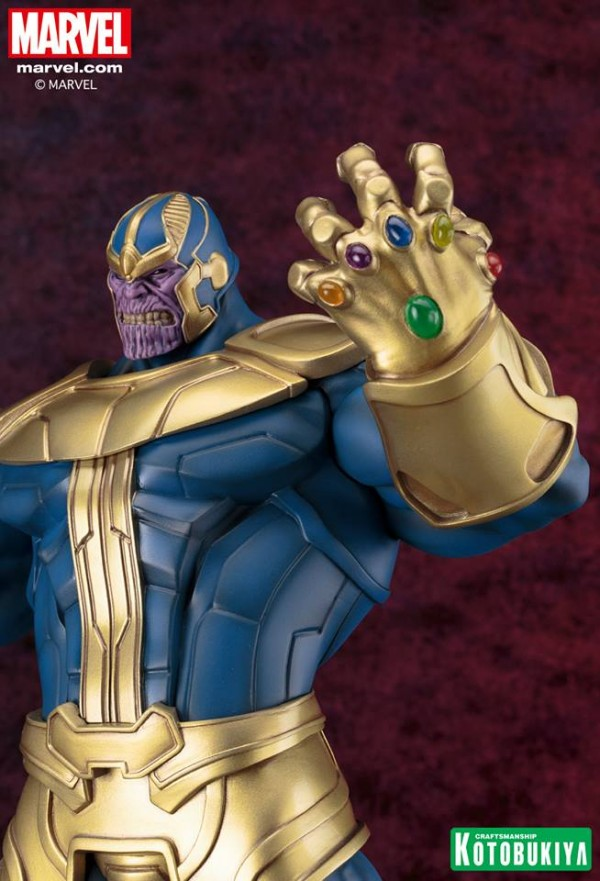 THANOS ESTATUA FINE ART 40 CM MARVEL UNIVERSE
