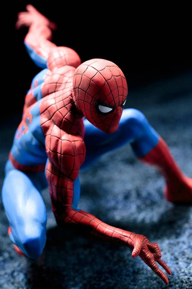 THE AMAZING SPIDER-MAN ESTATUA 8.5 CM MARVEL NOW ART FX+
