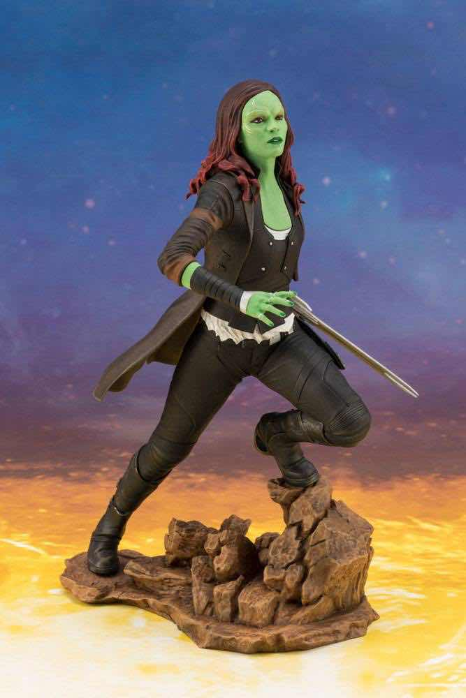 GAMORA ESTATUA 22 CM MARVEL GUARDIANS OF THE GALAXY ARTFX