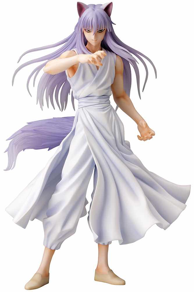 DEMON FOX KURAMA FIGURA 25 CM YU YU HAKUSHO ART FX J