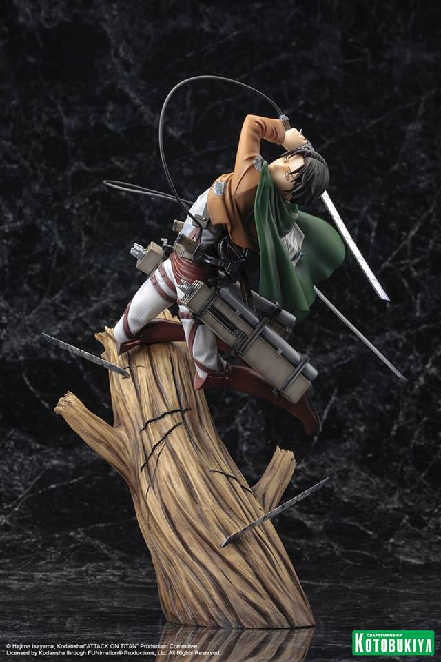 LEVI ESTATUA 26 CM ATTACK ON TITAN ARTFXJ