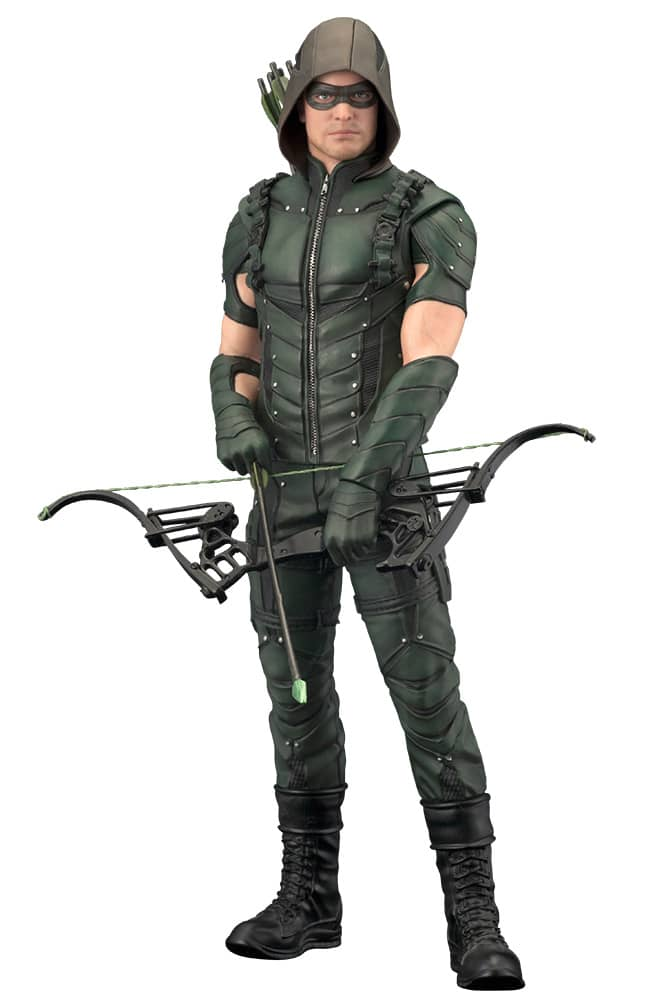 GREEN ARROW TV ESTATUA 18.4 CM ARROW DC COMICS ARTFX+