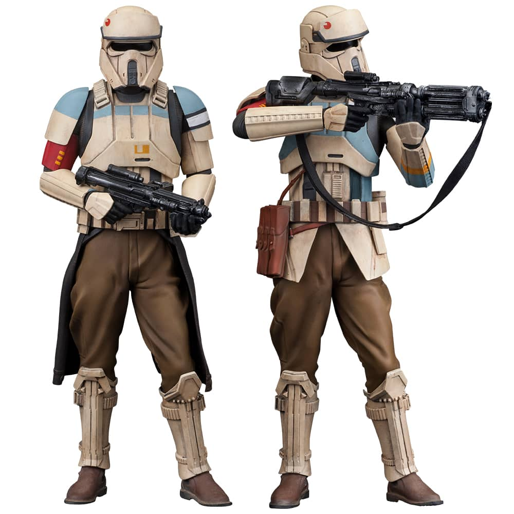 SHORETROOPER PACK 2 FIGURAS 18 CM STAR WARS ROGUE ONE ARTFX+