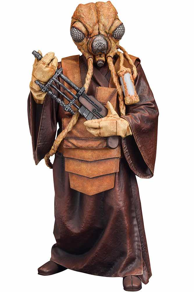 ZUCKUSS BOUNTY HUNTER FIGURA 16 CM STAR WARS ART FX+