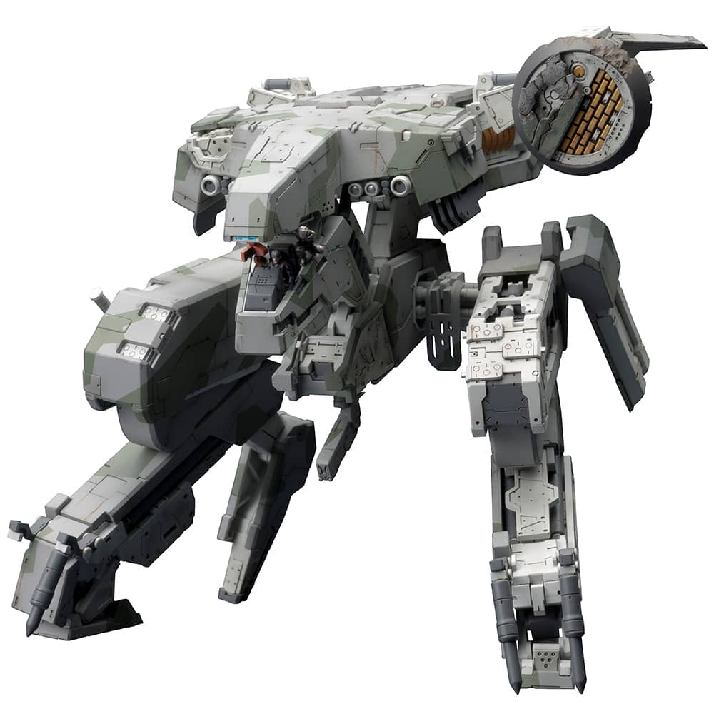 METAL GEAR REX MGS 4 MODEL KIT 22 CM METAL GEAR SOLID 4 GUNS OF THE PATRIOTS PMK
