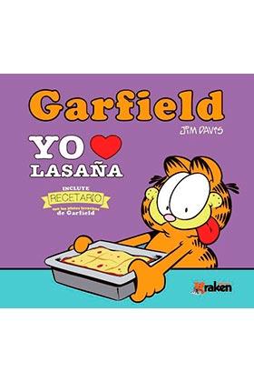 GARFIELD. YO AMO LA LASAÑA