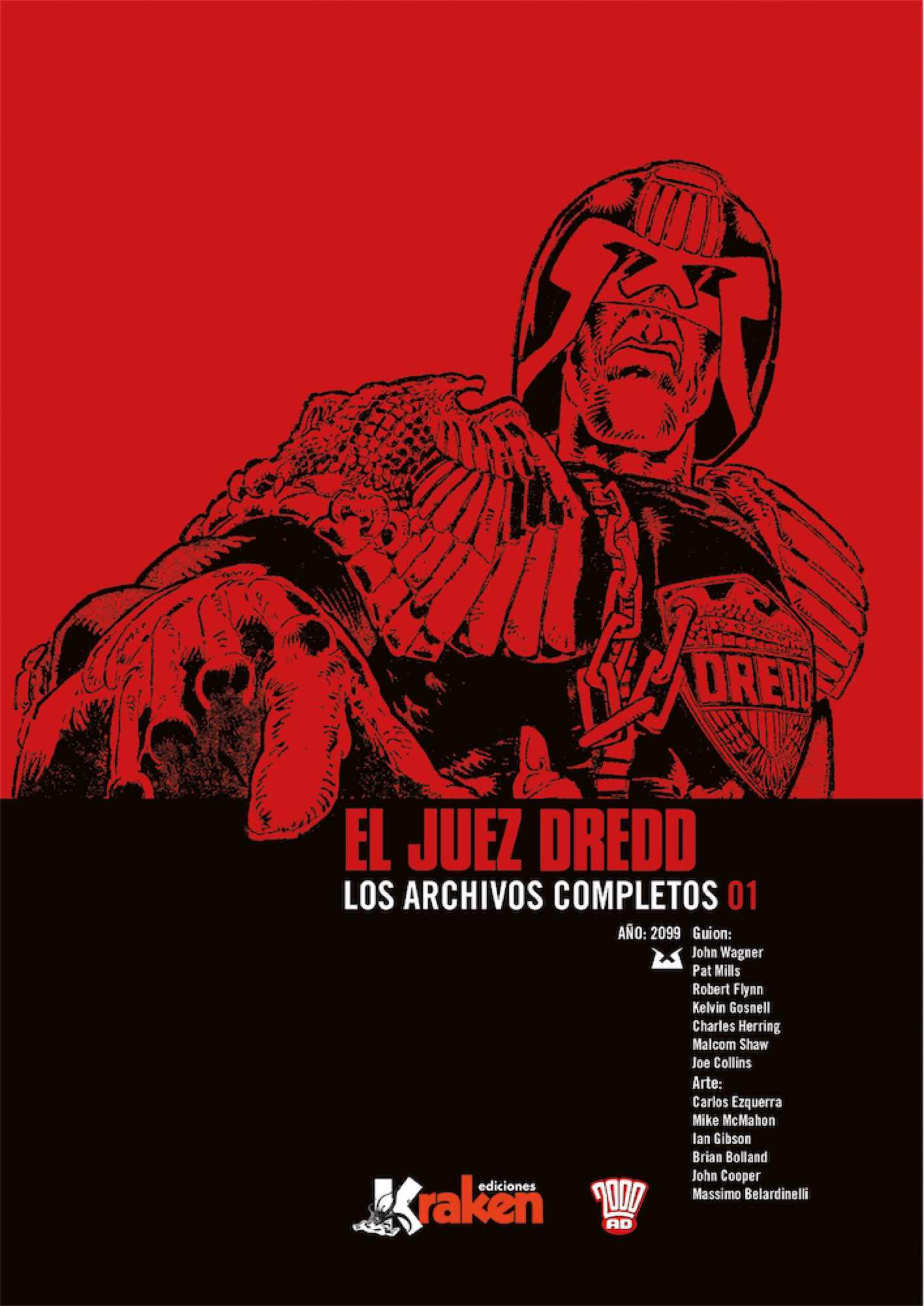 JUEZ DREDD LOS ARCHIVOS COMPLETOS 01 (INTEGRAL)