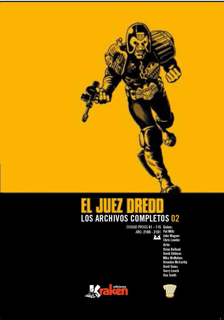 JUEZ DREDD LOS ARCHIVOS COMPLETOS 02 (INTEGRAL)