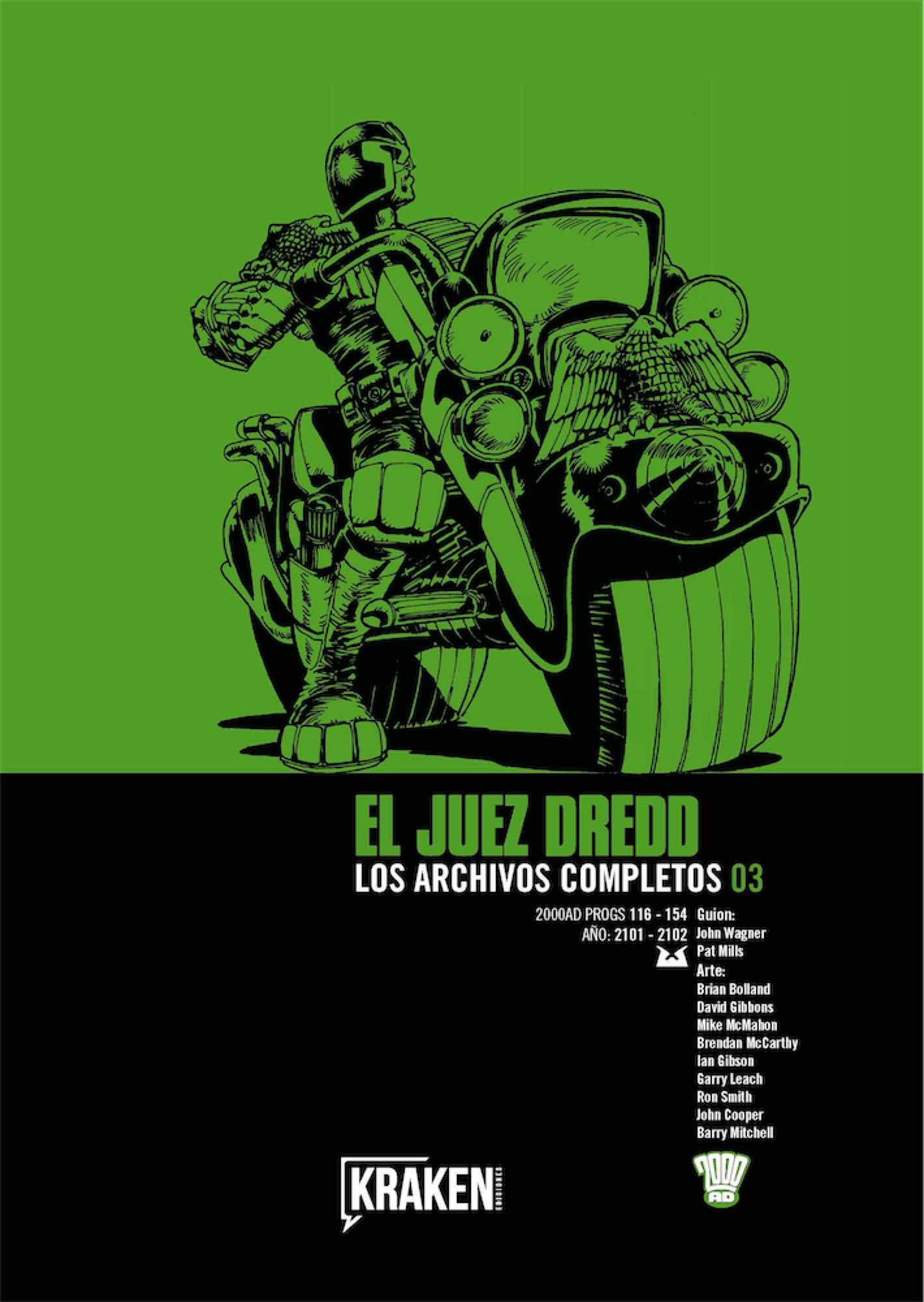 JUEZ DREDD LOS ARCHIVOS COMPLETOS 03 (INTEGRAL)