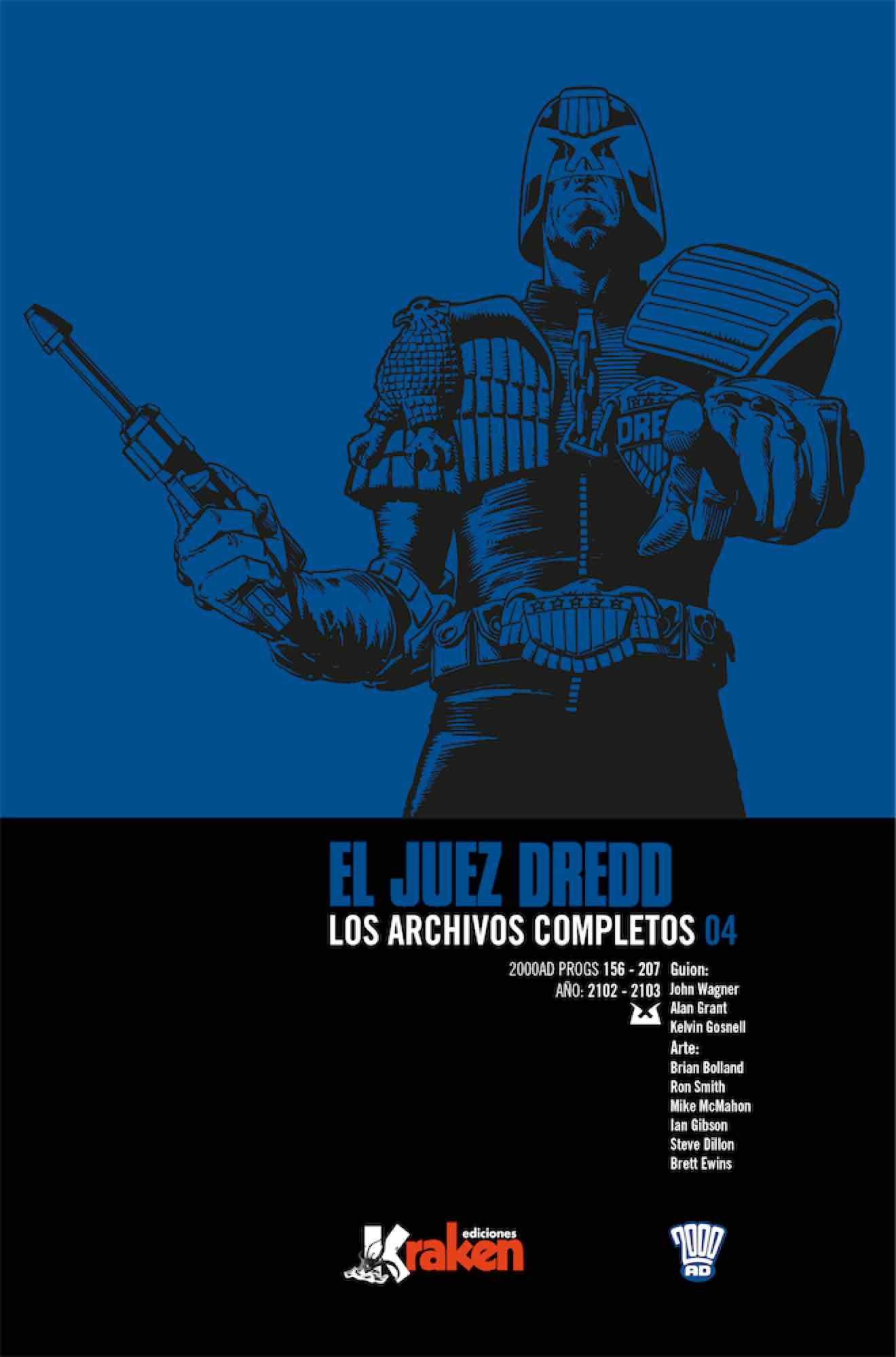 JUEZ DREDD LOS ARCHIVOS COMPLETOS 04 (INTEGRAL)