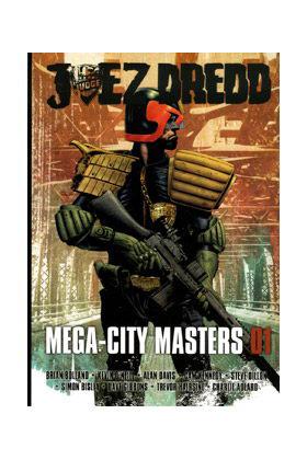 JUEZ DREDD MEGA-CITY MASTERS 01