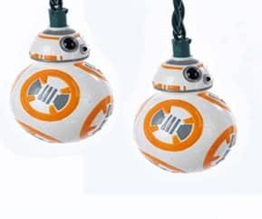 BB-8 SET LUCES NAVIDAD STAR WARS
