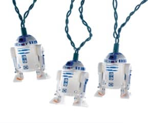 R2-D2 SET LUCES NAVIDAD STAR WARS