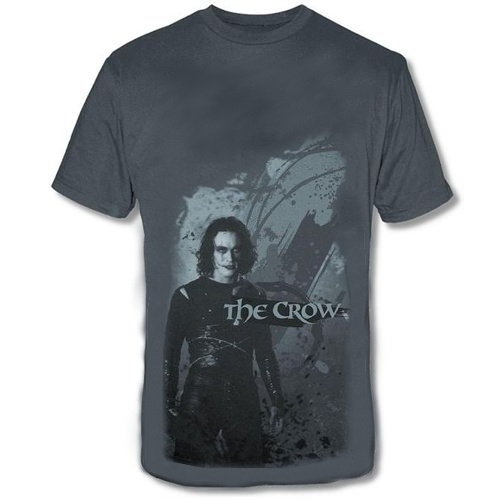 EL CUERVO BRANDON POSE CAMISETA CHICO T-S THE CROW
