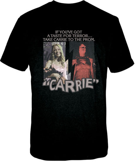 CARRIE BASIC PROM CAMISETA CHICO T-XL CARRIE