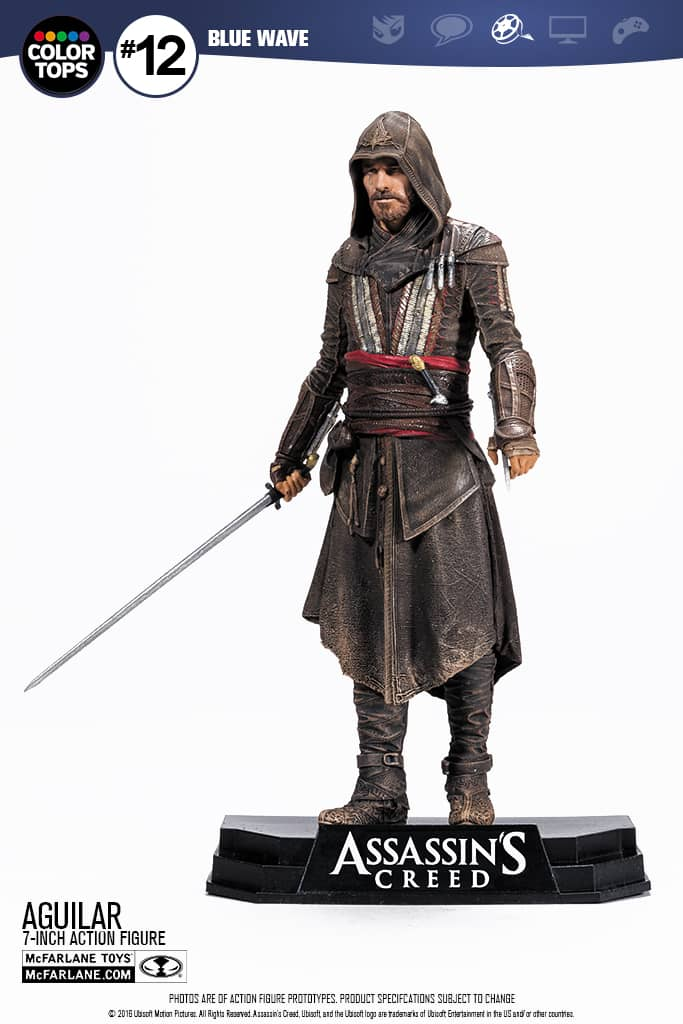 AGUILAR FIGURA 18 CM ASSASSINS CREED MOVIE
