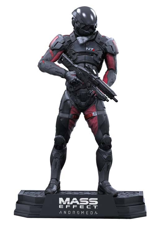 ANDROMEDA SCOTT RYDER FIGURA 18 CM MASS EFFECT GREEN WAVE