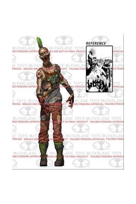 PUNK ROCK ZOMBIE FIGURA 13 CM (COMIC VERSION) SERIE 3 THE WALKING DEAD