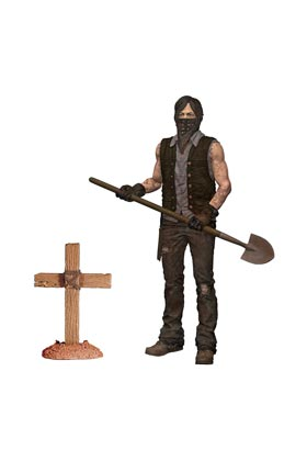 DARYL ENTERRADOR FIGURA 13 CM THE WALKING DEAD TV VERSION SERIE 9