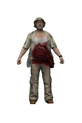DALE HORVATH FIGURA 13 CM THE WALKING DEAD TV VERSION SERIE 9