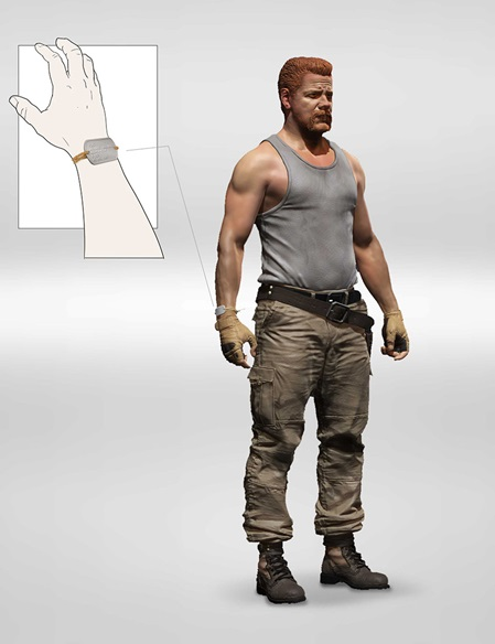 ABRAHAM FORD FIGURA 13 CM THE WALKING DEAD TV VERSION SERIE 9