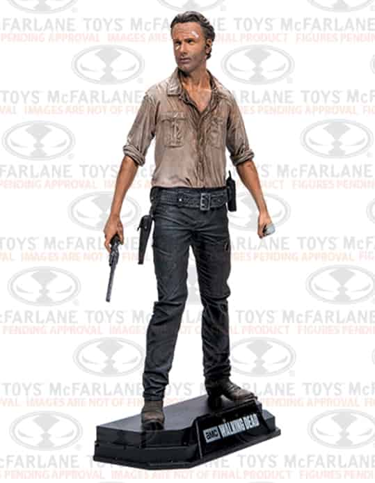 RICK GRIMES FIGURA 18 CM THE WALKING DEAD TV VERSION