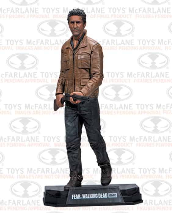 TRAVIS MANAWA FIGURE 18 CM FEAR THE WALKING DEAD TV VERSION