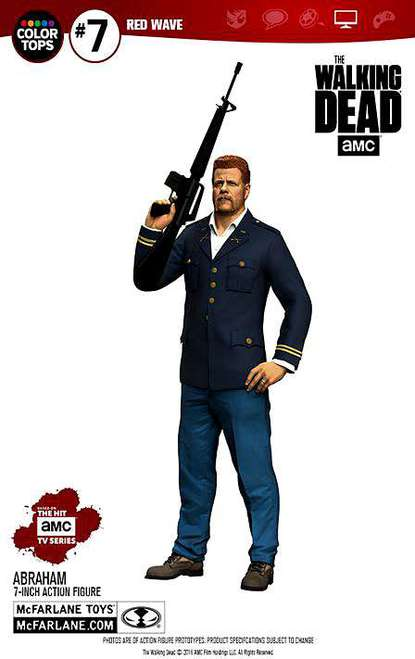 ABRAHAM FIGURE 18 CM THE WALKING DEAD TV VERSION