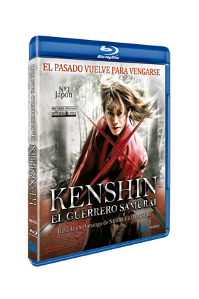 KENSHIN EL GUERRERO SAMURAI BLU·RAY
