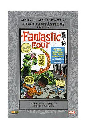 MARVEL MASTERWORKS: LOS 4 FANTASTICOS (1961-1962)
