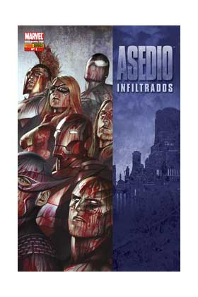 ASEDIO INFILTRADOS 01 (COMIC)