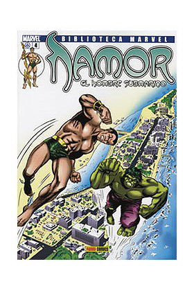 BIBLIOTECA MARVEL: NAMOR 004