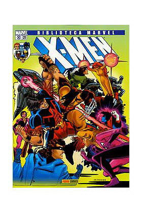 BIBLIOTECA MARVEL: X-MEN 021