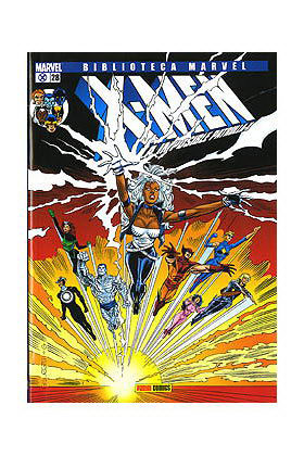 BIBLIOTECA MARVEL: X-MEN 028 (ULTIMO NUMERO)