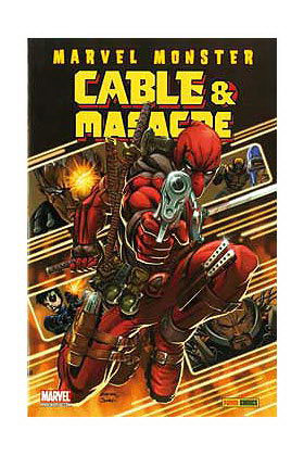 MARVEL MONSTER: CABLE & MASACRE 01