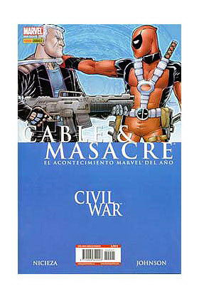 CABLE & MASACRE: CIVIL WAR (CW)