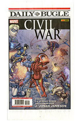 DAILY BUGLE ESPECIAL CIVIL WAR (CW)