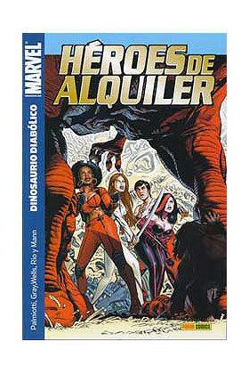 HEROES DE ALQUILER 02 DINOSAURIO DIABOLICO