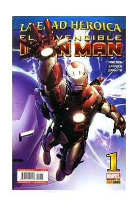 INVENCIBLE IRON MAN VOL 2 01 (LA EDAD HEROICA)