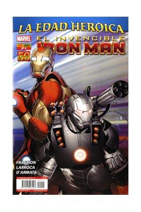 INVENCIBLE IRON MAN VOL 2 02 (LA EDAD HEROICA)