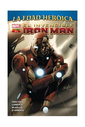 INVENCIBLE IRON MAN VOL 2 08 (LA EDAD HEROICA)