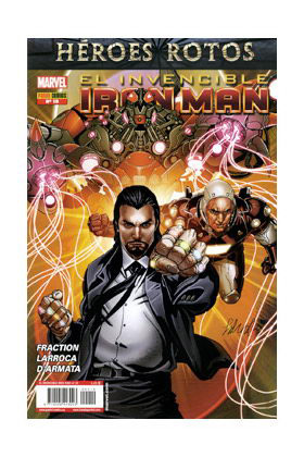 INVENCIBLE IRON MAN VOL 2 19 (HEROES ROTOS)