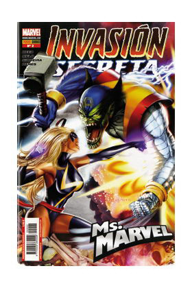 INVASION SECRETA: MS. MARVEL 02