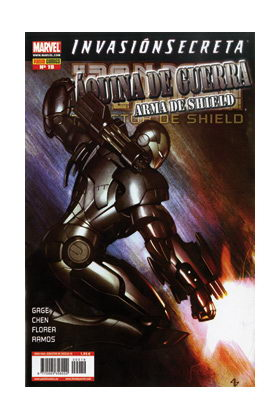 IRON MAN: DIRECTOR DE SHIELD 19 (MAQUINA DE GUERRA: ARMA DE SHIELD)