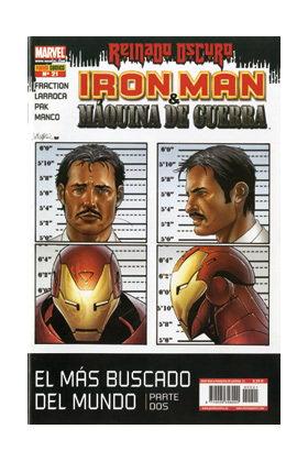 IRON MAN: DIRECTOR DE SHIELD 21 (MAQUINA DE GUERRA: REINADO OSCURO)