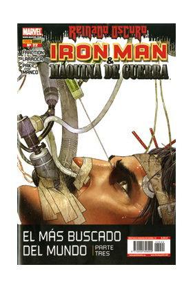 IRON MAN: DIRECTOR DE SHIELD 22 (MAQUINA DE GUERRA: ARMA DE SHIELD)