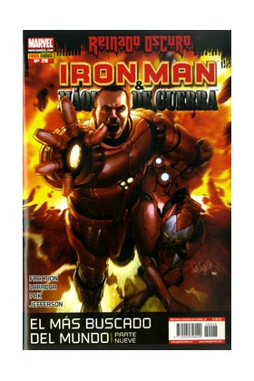 IRON MAN: DIRECTOR DE SHIELD 28 (MAQUINA DE GUERRA: ARMA DE SHIELD)
