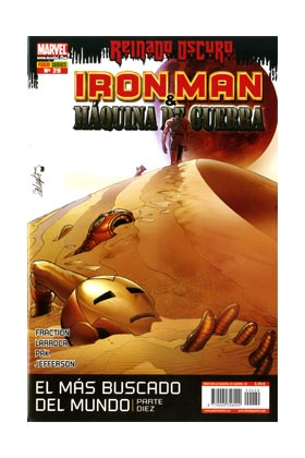IRON MAN: DIRECTOR DE SHIELD 29 (MAQUINA DE GUERRA: ARMA DE SHIELD)