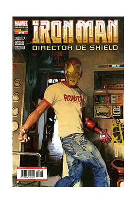 IRON MAN: DIRECTOR DE SHIELD 08