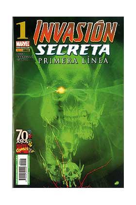 INVASION SECRETA: PRIMERA LINEA 01